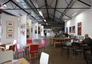 NeST art gallery, studios, digital hub and cafe