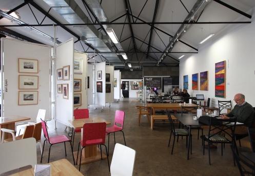 NeST art gallery, studios, digital hub and cafe