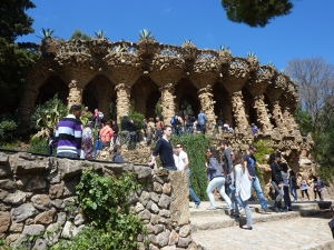 Parc Guell Viaduct