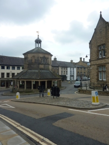 The Market Cross at Barnard Castle known locally as the Buttermarket