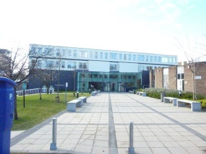 Entrance to Leeds Trinity University