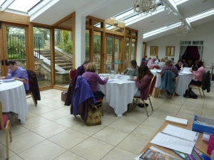 Writers on retreat at the Morritt