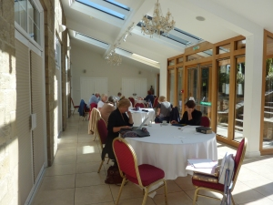 Participants on Writers' Retreat Day 2