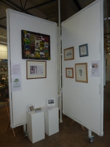 Teesdale Words display at NeST