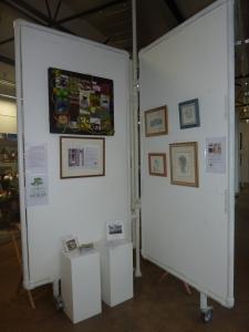 Teesdale Words display at NeST