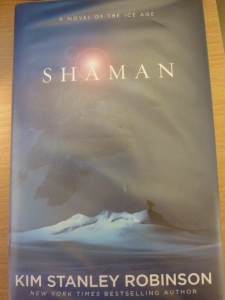 Book cover of Shaman by Kim Stanley Robinson